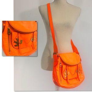 Marc Jacobs Flouro Orange Petal to the Metal Purse
